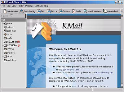 KDE2 Kmail
