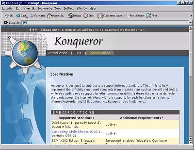 KDE2 Konqueror
