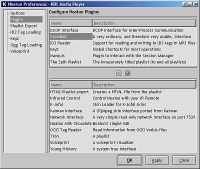 KDE2 Noatun