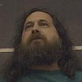 Richard Stallman a NYU-n tartott előadás közben