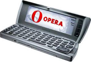 Opera a Nokia Communicator 9210i készüléken
