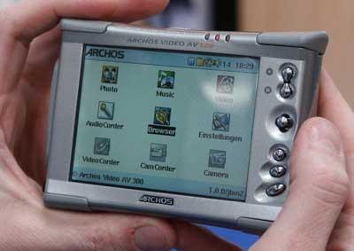 Archos AV 300 Download Drivers