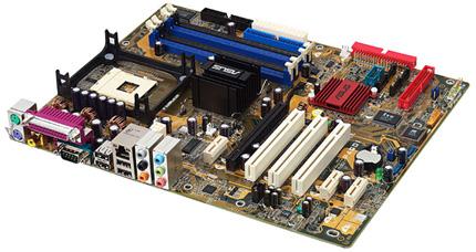 Asus P4GD1 alaplap i915P chipsettel és Socket 478 CPU foglalattal