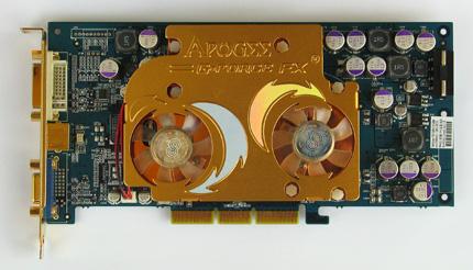 Chaintech APOGEE AA5700U AGP 8x videokártya