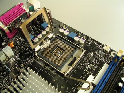 Az új LGA-775 processzor foglalat