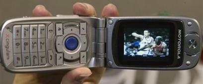 Motorola mobil video