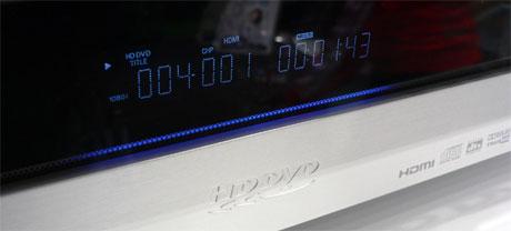 Cebit 2006: működő HD DVD-lejátszó a Toshiba standján