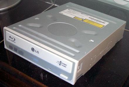 LG GBW-H10N Blu-ray-író
