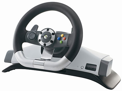 Xbox 360 vezeték nélküli kormány