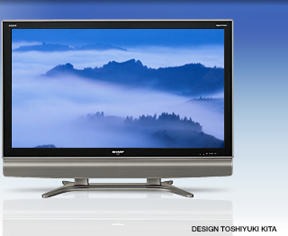 Az első 8G-s LCD-TV, Sharp AQUOS