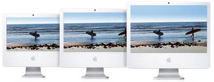 Apple iMac-ek Core 2 Duo processzorral