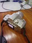 Sharp 770SH kamera