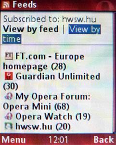 Opera Mini Beta 3.0