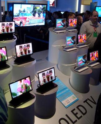 Sony OLED kijelzők a CES-en