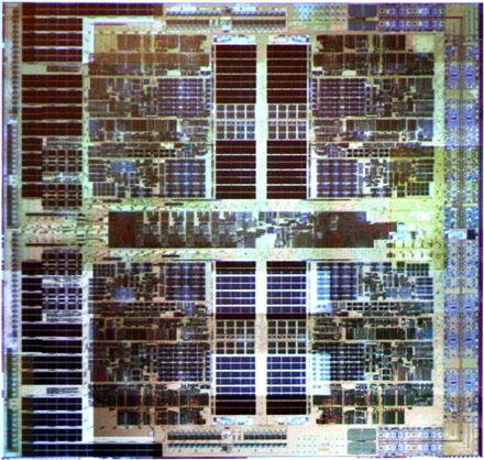 AMD Barcelona die shot