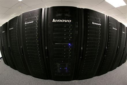 Lenovo szuperszámítógép a Williams Formula 1-es csapatnál