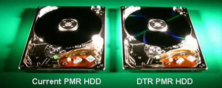 DTR technológiájú lemez