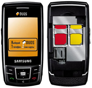 Samsung DuoS D880, mint Duo Sim