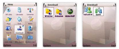 Windows Live Nokia mobilokon