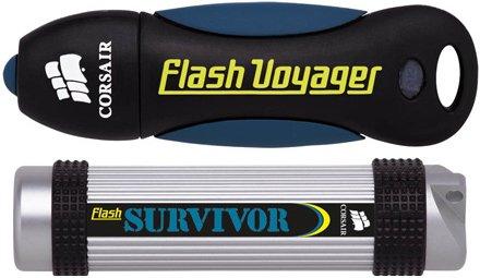 32 gigabájtos Corsair Voyager és Survivor