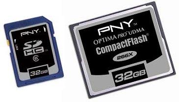 Optima Pro Compact Flash kártya