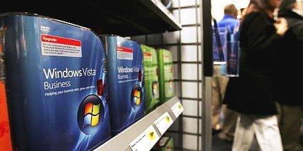 Windows Vista a polcokon