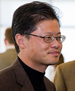 Jerry Yang, Yahoo! CEO; Forrás: Mitchell Aidelbaum