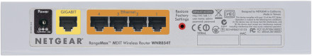 Netgear WNR854T router