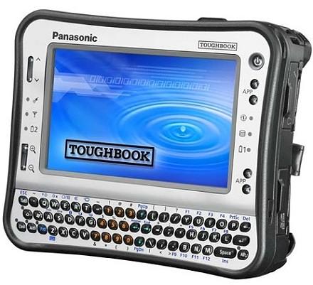 Az új Toughbook UMPC nem a kisiskolások slágergépe, mélyen kell majd zsebbe nyúlni érte