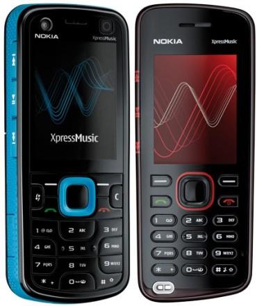 Nokia ExpressMusic 5320 és 5220