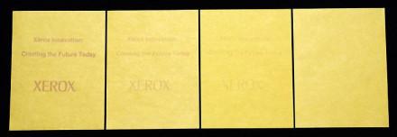 A Xerox lapja újranyomtatható