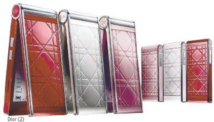 Christian Dior mobiltelefon