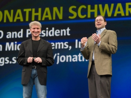 Rich Green és Jonathan Schwartz