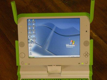 Windows XP az OLPC XO notebookon
