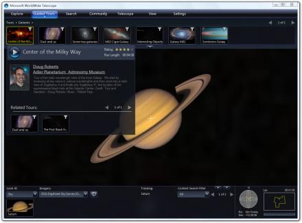 Microsoft Worldwide Telescope béta