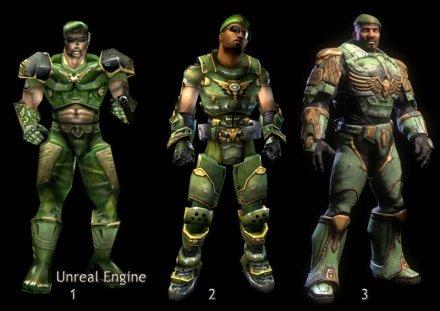 Karakterek az Unreal Tournamentben