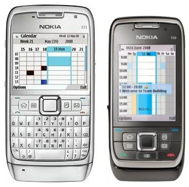 Nokia E71 és E66