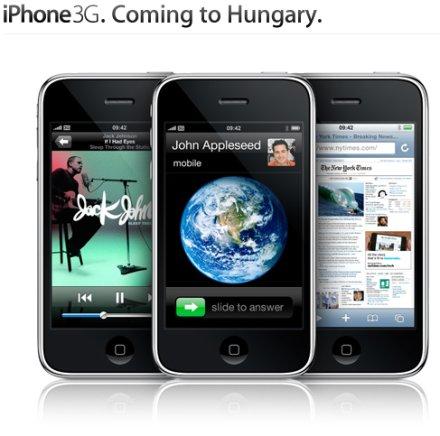 Magyarországra jön az iPhone