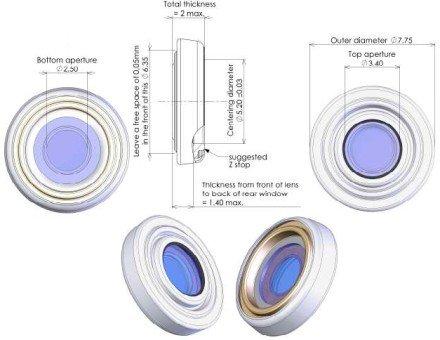 A Varioptic folyadéklencséje