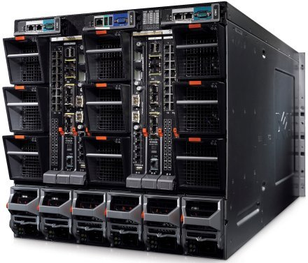 Dell M1000e blade keret