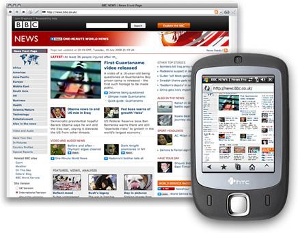Opera Mobile 9.5