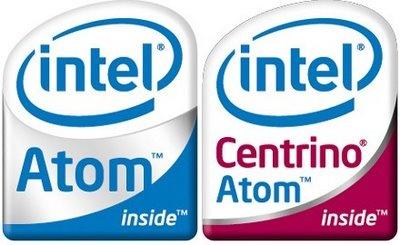 Centrino Atom logo