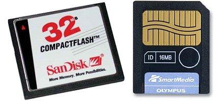Compact Flash és Smart Media