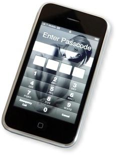 iPhone 3G passcode