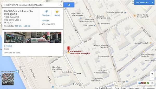 8db7dfc943 A frissített felület és a technológiai ugrás a webes Google Maps  történetének egyik legnagyobb előrelépése, de még nem kötelező váltani.