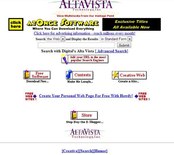 Temeti a Yahoo az AltaVista veterán webböngészőjét