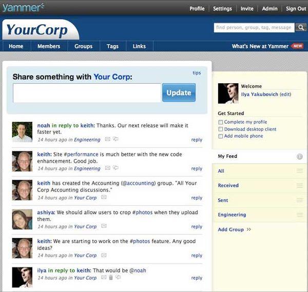 Vállalati közösségi hálózatok - a Microsoft begyűrte a Yammert?