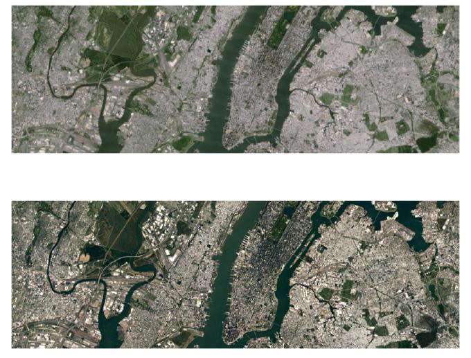 műhold térkép élő Minőségi ugrást hoz a Google új műholdas térképe   HWSW műhold térkép élő