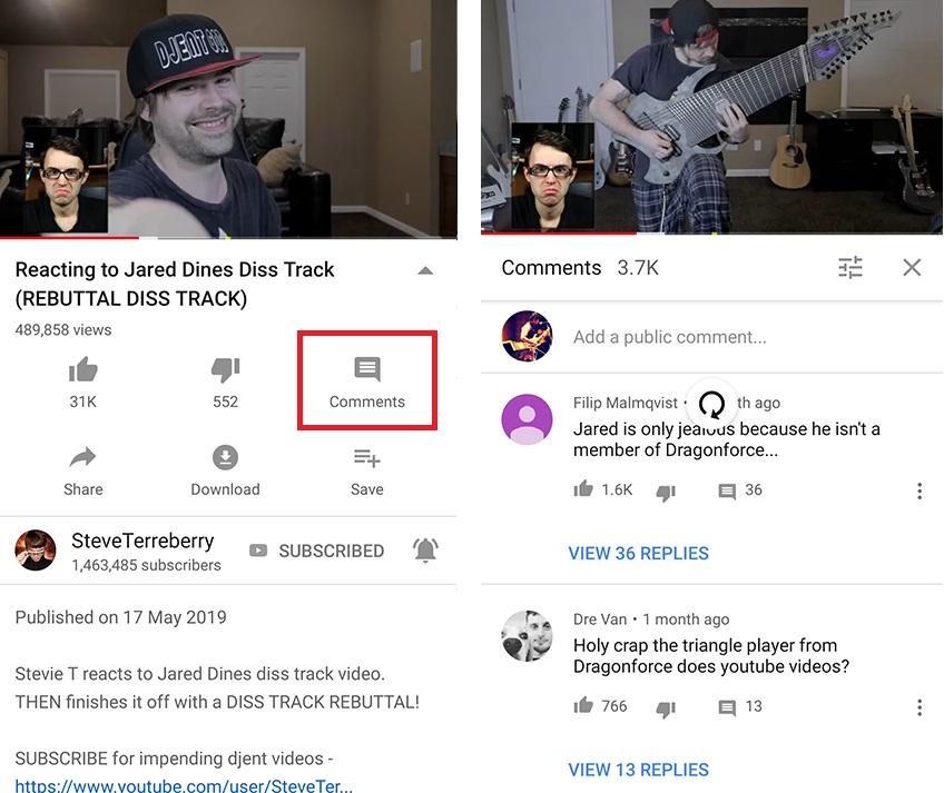Youtube-hozzaszolasok